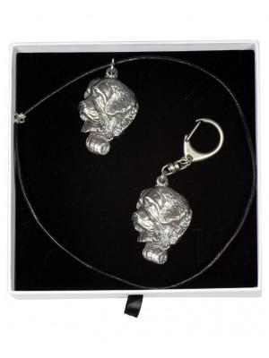 St. Bernard - keyring (silver plate) - 1991 - 15718