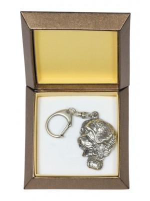 St. Bernard - keyring (silver plate) - 2775 - 29895