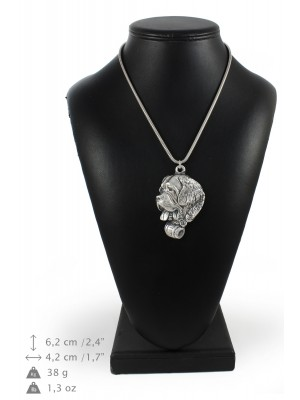 St. Bernard - necklace (silver chain) - 3330 - 34471