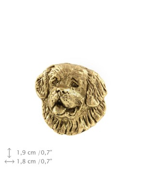 St. Bernard - pin (gold plating) - 1061 - 7714