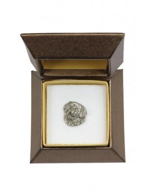 St. Bernard - pin (silver plate) - 2640 - 28921