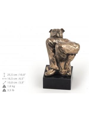 Staffordshire Bull Terrier - figurine (bronze) - 326 - 9191