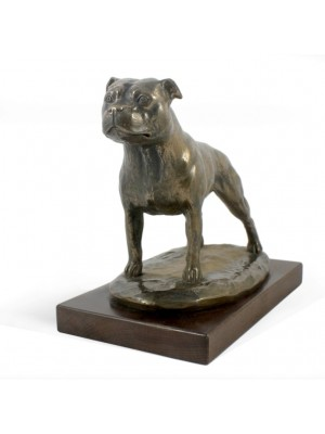 Staffordshire Bull Terrier - figurine (bronze) - 599 - 6971