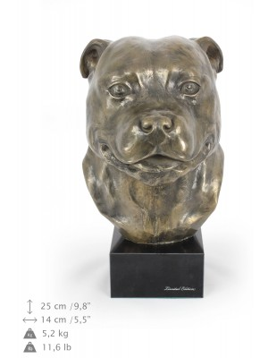 Staffordshire Bull Terrier - figurine (resin) - 142 - 7672