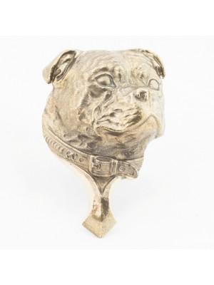Staffordshire Bull Terrier - knocker (brass) - 340 - 21806