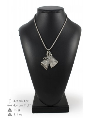 Switch Terrier - necklace (silver chain) - 3285 - 34282
