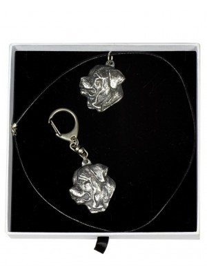 Tosa Inu - keyring (silver plate) - 2033 - 16769