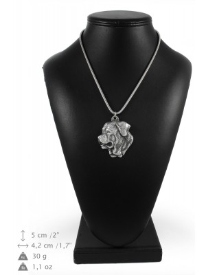 Tosa Inu - necklace (silver cord) - 3251 - 33397