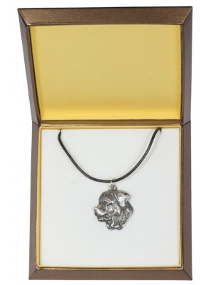 Tosa Inu - necklace (silver plate) - 3000 - 31143