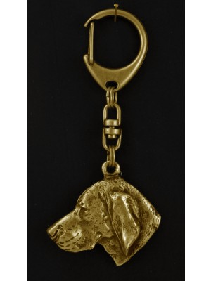 Vizsla - keyring (gold plating) - 886 - 4024