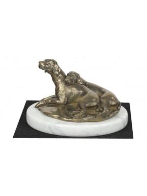 Weimaraner - figurine (bronze) - 4632 - 41587