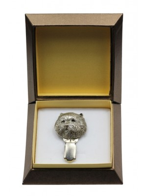 West Highland White Terrier - clip (silver plate) - 2562 - 28143