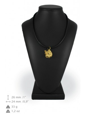 West Highland White Terrier - necklace (gold plating) - 1002 - 25528