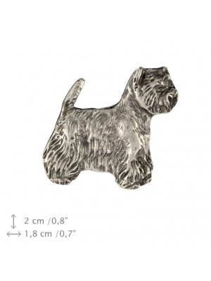 West Highland White Terrier - pin (silver plate) - 457 - 25933