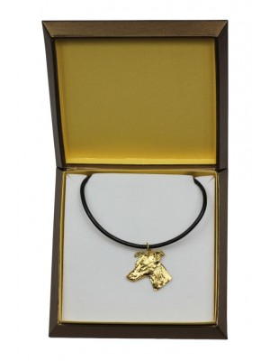 Whippet - necklace (gold plating) - 2477 - 27636