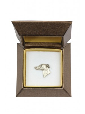 Whippet - pin (silver plate) - 2633 - 28914
