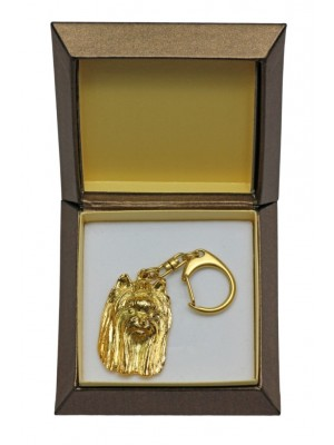 Yorkshire Terrier - keyring (gold plating) - 2452 - 27323