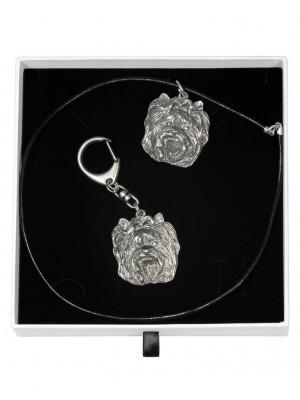 Yorkshire Terrier - keyring (silver plate) - 1946 - 14669