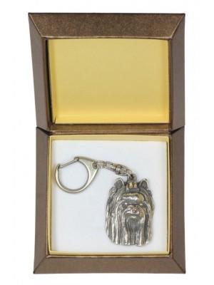 Yorkshire Terrier - keyring (silver plate) - 2812 - 29935
