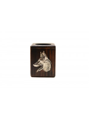 Malinois - candlestick (wood) - 3970