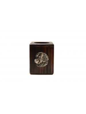 Golden Retriever - candlestick (wood) - 3895
