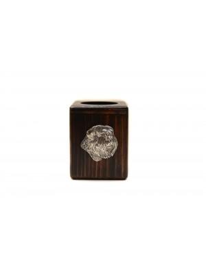 Bouvier des Flandres - candlestick (wood) - 3901