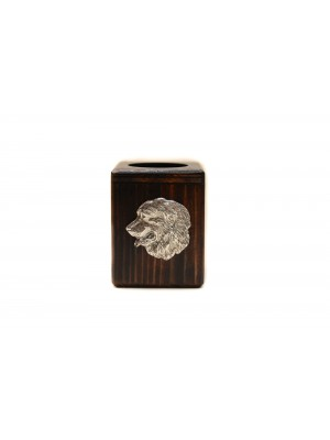 Bernese Mountain Dog - candlestick (wood) - 3904