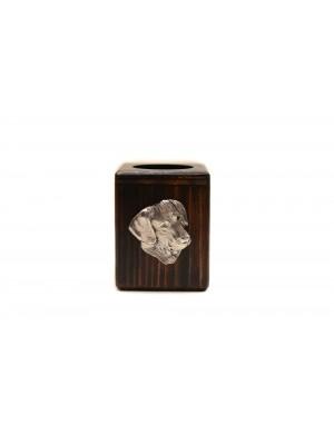 Rhodesian Ridgeback - candlestick (wood) - 3919