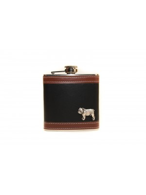 English Bulldog - flask - 3496