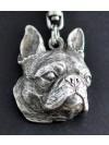 Boston Terrier - keyring (silver plate) - 54 - 327
