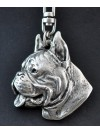 Boxer - keyring (silver plate) - 40 - 250