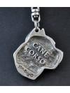Cane Corso - keyring (silver plate) - 5 - 77