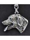 Dalmatian - keyring (silver plate) - 21 - 153