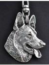 German Shepherd - keyring (silver plate) - 29 - 192