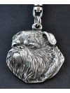 Griffon - keyring (silver plate) - 50 - 306