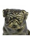Pug - statue (resin) - 1598 - 8385