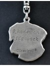 Rhodesian Ridgeback - keyring (silver plate) - 46 - 282