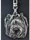 Yorkshire Terrier - keyring (silver plate) - 35 - 227