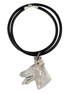 Doberman pincher - necklace (strap) - 772