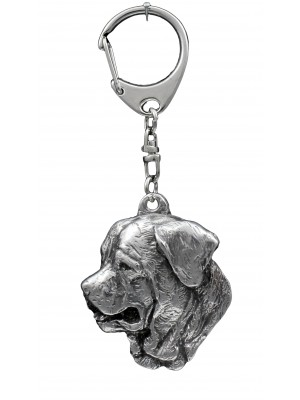 Tosa Inu - keyring (silver plate) - 1105