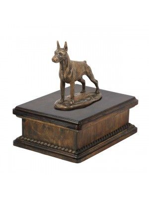 Doberman cropped- exlusive urn