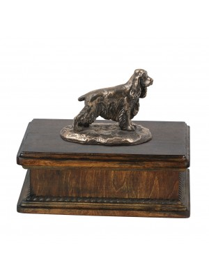 English Cocker Spaniel- exlusive urn
