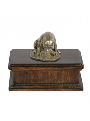 English Staffordshire Terrier mama- exlusive urn