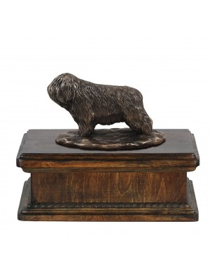 Polish Lowland Sheepdog- exlusive urn
