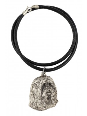 Bearded Collie - necklace (strap) - 225