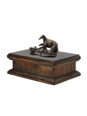 Borzoi, Russian Wolfhound- exlusive urn