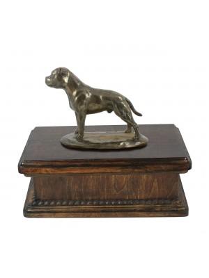 English Staffordshire Terrier- exlusive urn