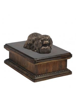 Pekingese- exlusive urn