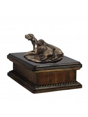 Weimaraner paur- exlusive urn