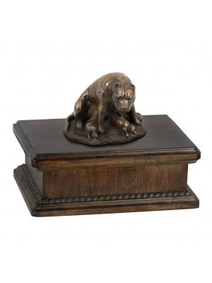 Staffordshire Bull Terrier mama- exlusive urn